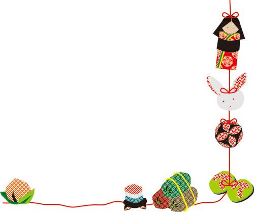 ハート 折り紙:ひな祭りつるし飾り折り紙-yakudatsu-site.com